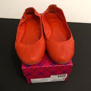 Tory Burch Eddie Ballet Flat Shoes 7.5